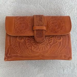 Beautiful Artisan Leather Purse